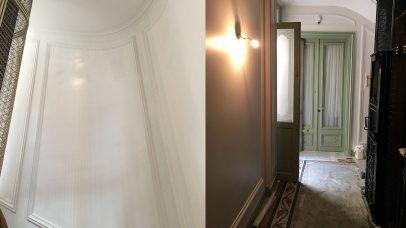 Amatex Rénovation - Cage d'escalier - Avenue George V - Paris